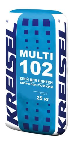 Морозостойкий клей для плитки MULTI 102 Kreisel